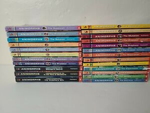 Animorphs Book Lot of 24 Paperback