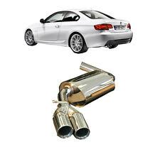 Endschalldämpfer Sportauspuff BMW 3er E90 E91 E92 316d 318d 320d Endtopf