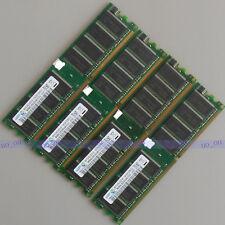 Samsung 4GB 4X1GB DDR400 PC3200 ram DIMM Desktop memory Low Density 400mhz DDR1