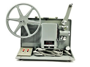 ARGUS M-500 8MM Portable Movie Film Projector Sylvania | VINTAGE | NEAR MINT