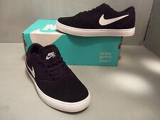 Nike SB Check Youth Athletic Shoes NEW NIB Black Suede Canvas 705266 SIZES!