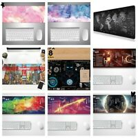 """25 type New Extended Gaming Mouse Pad Large Size Desk Keyboard Mat 35.4""""x15.75"""""""