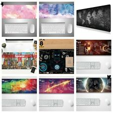 25 type New Extended Gaming Mouse Pad Large Size Desk Keyboard Mat
