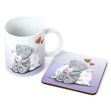 Me to you cadeau mug & dessous de verre violet cadeaux set-tatty teddy bear