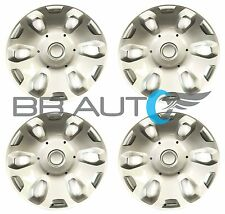 """SET OF 4 NEW 2010-2013 FORD TRANSIT CONNECT VAN 15"""" WHEEL COVERS HUBCAPS SILVER"""