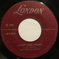 "Rare The Rolling Stones Honky Tonk Women / No puedes 45rpm 7"" Mexico 1969 London"