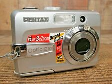 Pentax Optio E10 6MP Digital Point and Shoot Camera - Tested