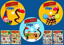 Whizzer & Chips Comics, Annual's & Specials On 3 DVD Rom's