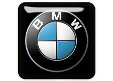 "BMW 1""x1"" Chrome Domed Case Badge / Sticker Logo"
