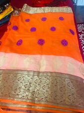Beautiful Indian Bangladeshi Pakistan tant cotton saree