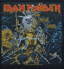 IRON MAIDEN AUFNÄHER / PATCH # 30 LIVE AFTER DEATH