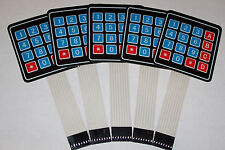 5 PCS 4x4 Matrix Array 16 Key Membrane Switch Keypad,Arduino/AVR/PI​C USA SHIP !