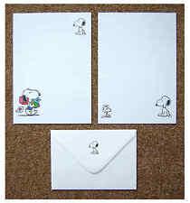 Lettera SNOOPY Set Cancelleria Carta da SCRIVERE