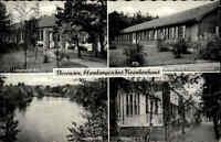 Bevensen ~1950/60 Partie Hamburgisches Krankenhaus Mehrbild-AK Klinik Ärztehaus