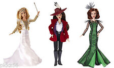 DISNEY OZ THE GREAT AND POWERFUL Glinda Theodora Evenora  Doll Set BONUS Charms