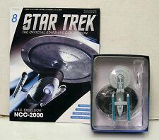 "#8 Star Trek  5.5"" Die-Cast USS EXCELSIOR NCC-2000 from UK/Eaglemoss w Mag"