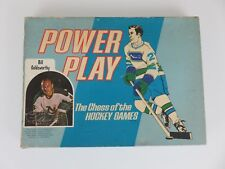 Romac Power Play Hockey Board Game 1970 - Not Complete
