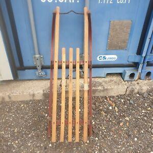 Vintage Wooden Davos Sledge