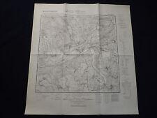 CARTINA meßtischblatt 3362 zirke/Sieraków, Warthe paese, Poznan, siede, 1945