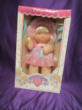 FISHER PRICE PUFFALUMP PRETTY HAIR DOLL IN ORIGINAL BOX BLONDE HAIR w/Assess.