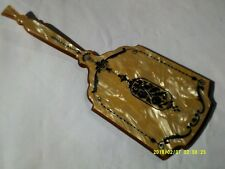 Antique Vintage Rare Art Deco Hand Mirror Jewelry Bedroom Accessory Collectibles
