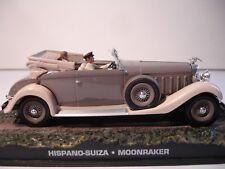 007 JAMES BOND MOONRAKER HISPANO-SUIZA 1/43 Die-cast