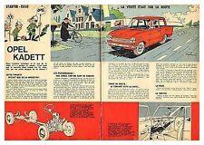 1963 DOCUMENT (ref IPS 1297) AUTO : OPEL KADETT   (2p)