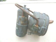 Phare Ancêtre Auto-Moto Carbure d'acétylène en laiton de marque PAX années 1900