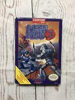 Nintendo NES Mega Man 3 Box only No game Original Good condition