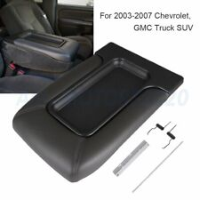Center Console Lid Armrest for 99-07 Avalanche Silverado Sierra Dark Gray Hot (Fits: Chevrolet)