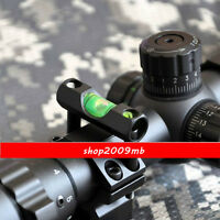 "For 25.4mm/1"" Ring Mount Holder Alloy Rifle Scope Laser Bubble Spirit Level"