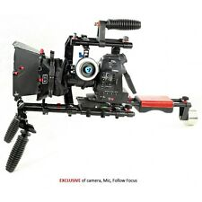Filmcity FC-02 DSLR Camera Cage Shoulder Rig Kit (FC-02)