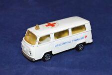Majorette VW Bus T2 Krankenwagen Volkswagen Bus Fourgon Ambulance Nr. 244/FachH3