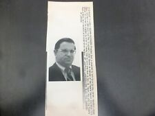Vintage Wire Press Photo-William Taylor Likely Succed William Seidman 8/7/1991