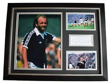 More details for archie gemmill signed framed photo autograph 16x12 display scotland coa