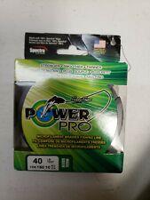 Power Pro USA Spectra Braid Fishing Line 40lb 150yd Yard 18kg 135m GREEN 40-150