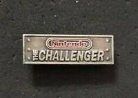 VTG NINTENDO BADGE / PIN ' THE CHALLENGER ' SNES NES N64 GAME WATCH GAMEBOY