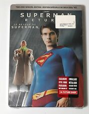 Superman Returns Future Shop Limited Edition STEELBOOK 2 Disc DVD NEW