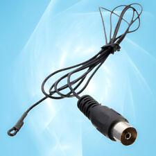 Universal 1.2m FM Radio/Hi-Fi/DAB/TV Indoor Antenna w/ Female Coax/Coaxial Plug