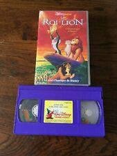 VHS  DISNEY  CLASSIQUES «LE  ROI LION»   AVEC HOLOGRAMME