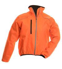 NUEVO Hivis Hombre Ciclismo Impermeable Windstopper manga larga zip jacket