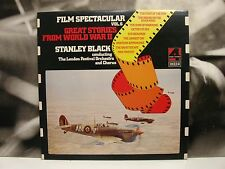 STANLEY BLACK  FILM SPECTACULAR VOL. 6 WORLD WAR II LP UNPLAYED UK DECCA PHASE 4
