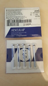 Aesculap Knochenschraube Spongiosa-Schraube Ø 4,0mm, 50mm LB290S bone screw