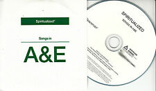 SPIRITUALIZED Songs In A&E UK18-trk numbered/watermarked promo test CD pvc slv