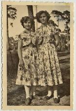 snapshot photo vintage les 2 soeurs - 2 sisters