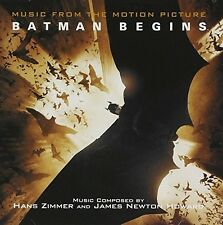 Hans Zimmer And James Newton Howard ‎CD Batman Begins - USA (M/M - Scellé /