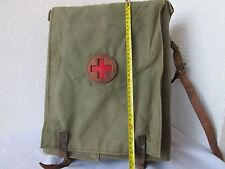 WW2 RUSSIAN SOVIET FIELD Army MEDIC FIRST AID Doctors Bag, canvas, leather