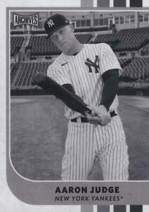 2021 Topps Archives Snapshots Baseball BLACK & WHITE Parallels ~ Pick your card