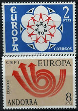Andorra Spanish 1973 SG#80-81 Europa MH Set #D53159