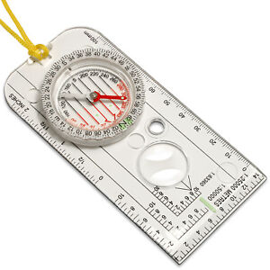 Magnifying Orienteering Compass Navigation Map Reading Scouts Army Cadet Hiking